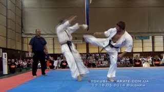getlinkyoutube.com-Highlight The 28th European Kyokushin Karate Championships. Bulgaria, 17-18.05.2014