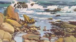 Watercolor lessons Juan Pena Lesson #1