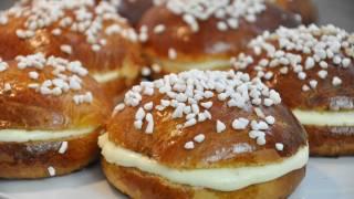 getlinkyoutube.com-Recette de la tarte tropézienne briochée à la crème vanillée