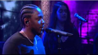 getlinkyoutube.com-Kendrick Lamar Performs On Late Show with Stephen Colbert