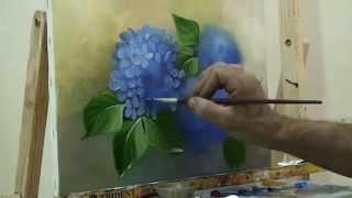 getlinkyoutube.com-pintando hortênsias - com Escudeiro