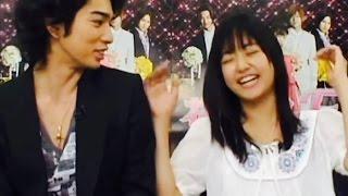 getlinkyoutube.com-Matsumoto Jun & Inoue Mao   Are U Ready 4 Love ?
