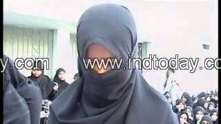 RTC Bus conductor misbehaved with girls students