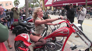 getlinkyoutube.com-Daytona Beach Bike Week 2015 - 74th Annual