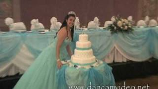 getlinkyoutube.com-Quinceanera Celebration in Miami, Fl.  by  Dancam Video.