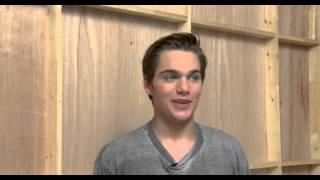 Dylan Sprayberry - stunt scene