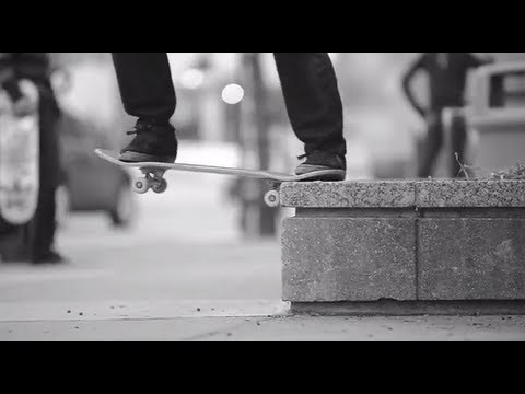 SLOW MOTION STREET SKATEBOARDING!