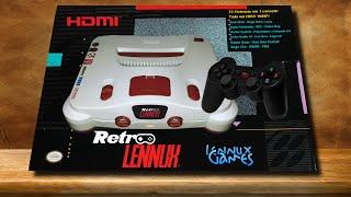getlinkyoutube.com-RETRO Lennux - Multi Console System - Lennux Games