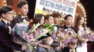 런닝맨, 사랑받는 한류 예능의 중심 '글로벌 스타상' @SBS 연예대상 2회 20171230