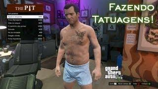 getlinkyoutube.com-Fazendo Tatuagens! | GTA V [PT-BR]