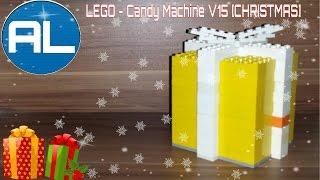 getlinkyoutube.com-LEGO - Candy Dispenser V1 [CHRISTMAS EDITION]