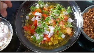 चटपटा रगड़ा || How to make Chatpata Ragda || Ramzan Special Chaat receipe || FULL THAALI