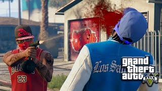 getlinkyoutube.com-GTA 5 | BLOODS VS CRIPS EP. 19 [HQ]