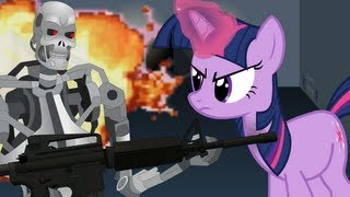 getlinkyoutube.com-Terminator vs Twilight Sparkle