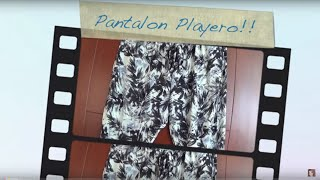 getlinkyoutube.com-Pantalon Playero DIY --
