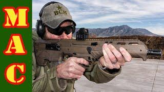 getlinkyoutube.com-Desert Tech MDR Bullpup Rifle