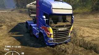 getlinkyoutube.com-Spintires - Euro Truck Simulator