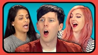 getlinkyoutube.com-YouTubers React to Try to Watch This Without Laughing or Grinning #3