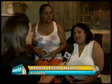 Rede Bahia notícia drama vivido por jovem com Displasia Mamária