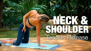 Neck & Shoulder Tension Release Yoga Class - Five Parks Yoga
