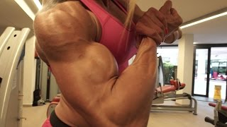 getlinkyoutube.com-Jaqueline Costa blonde Brazilian muscle hottie
