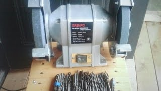 getlinkyoutube.com-Как заточить сверла.How to sharpen drill.