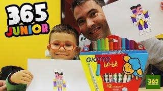 getlinkyoutube.com-APRENDER A DIBUJAR CON MARCADORES GIOTTO: Como dibujar con niños paso a paso
