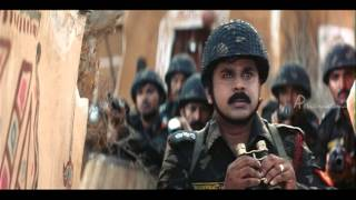 Kalam Tamil Movie scenes | Pakistan Army attacks Indian Army | Prabhu | Dileep | Indraja
