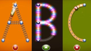 getlinkyoutube.com-Sing ABC and Learn to write Letter from A to Z   How To writing Alphabet Game   LetterSchool