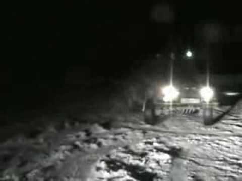 "УАЗ-3159 ""Барс"" Танцы на льду"