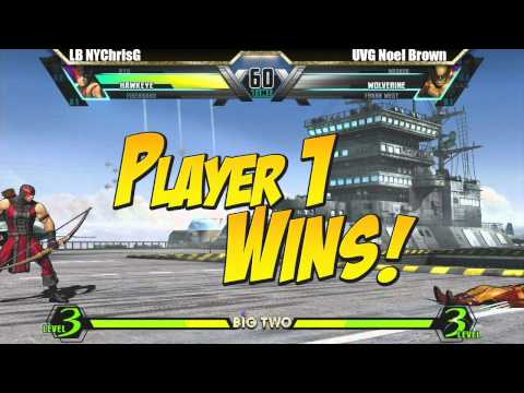 LB NYChrisG vs UVG Noel Brown Match - Big Two UMVC3 tournament