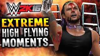 getlinkyoutube.com-WWE 2K16 - EXTREME HIGH FLYING MOMENTS! (PS4)