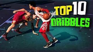 """getlinkyoutube.com-NBA 2K15 Top 10 """"Park"""" Ankle Breakers & Crossovers"""