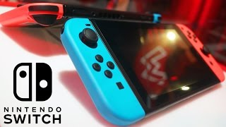 getlinkyoutube.com-Nintendo Switch Joy Con Controller Demo & First Impressions | The Hype is REAL!!