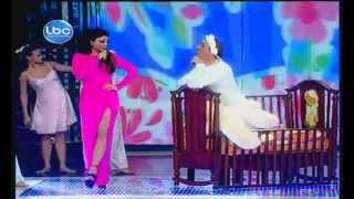 getlinkyoutube.com-ديو المشاهير 3 - هيفاء وهبي و ماريو  باسيل - بابا فين