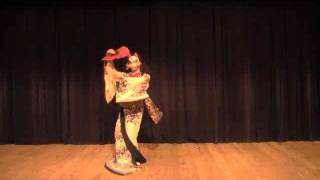 getlinkyoutube.com-【BadApple!!】 傷林果 【Japanese Traditional Dance】lyrics & Romaji