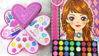 Deluxe Makeup Cosmetic set Barbie Make-up Artist SKETCH باربي رسم ماكياج Esboço de Maquiagem Barbie