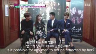 getlinkyoutube.com-[ENG SUB] 160902 SBS Good Morning- Lee Junki teased Kang Haneul for keep looking at Jieun