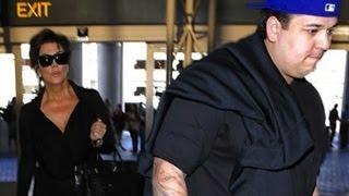 getlinkyoutube.com-Rob Kardashian Is Finally Hitting The Gym