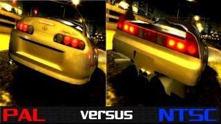 getlinkyoutube.com-PAL vs. NTSC - The Fast & The Furious: Tokyo Drift (PS2)