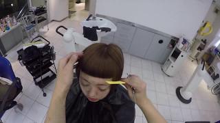 getlinkyoutube.com-sassoon流 前髪カットbyATSUTOSHI