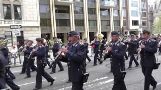 Steuben Parade~2014~NYC~ German Air Force Marching Band~NYCParadelife