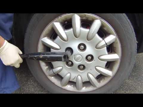 Proper Chrysler Dodge Jack Installation установление домкрата Chrysler Voyager Dodge
