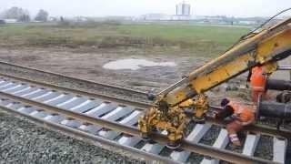 getlinkyoutube.com-Swietelsky reconstruction railway by SMD-80