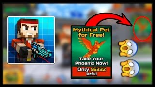 getlinkyoutube.com-Pixel Gun 3D How To Get Mythical Pet Pheonix For FREE
