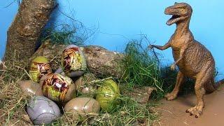 getlinkyoutube.com-Dinosaur Surprise eggs! Huevos de dinosaurio ! ไข่ ไดโนเสาร์ ประหลาด ใจ! 놀라운 3D 퍼즐 공룡 계란!   공룡 서프라이즈