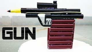 getlinkyoutube.com-How to Make a Powerful Gun using Sketch Pen that shoots