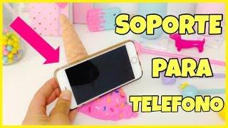 getlinkyoutube.com-Soporte para TELEFONO(móvil)ORIGINAL \Helado Falso