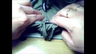 getlinkyoutube.com-Estrechar pantalon de la cintura