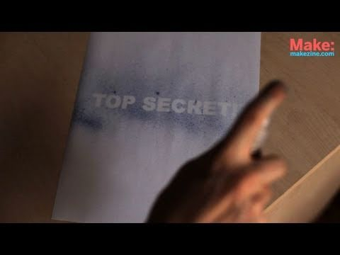 Invisible Ink Print Cartridge
